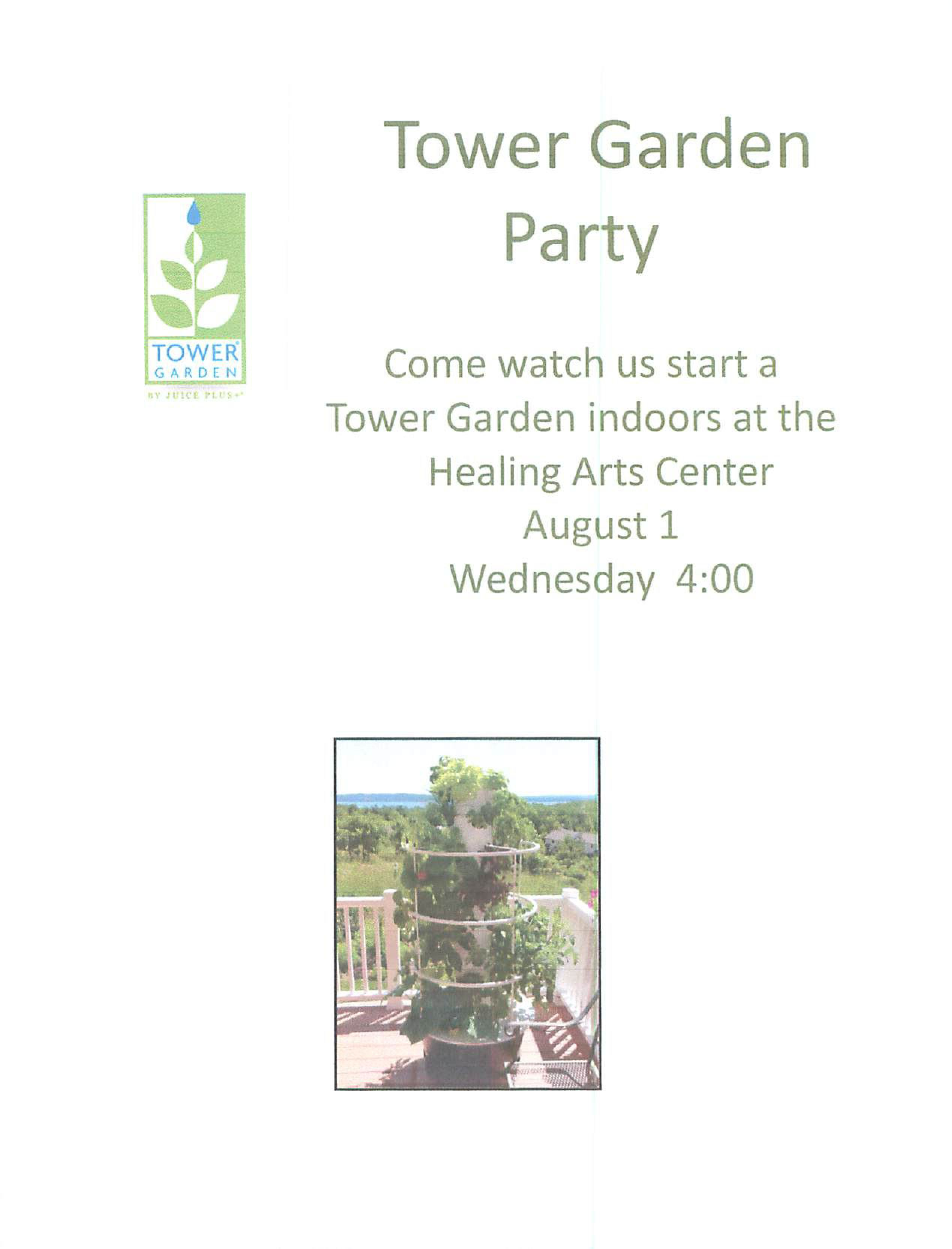 Tower Garden Party